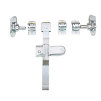 Steel Rod Door Lock 104110G